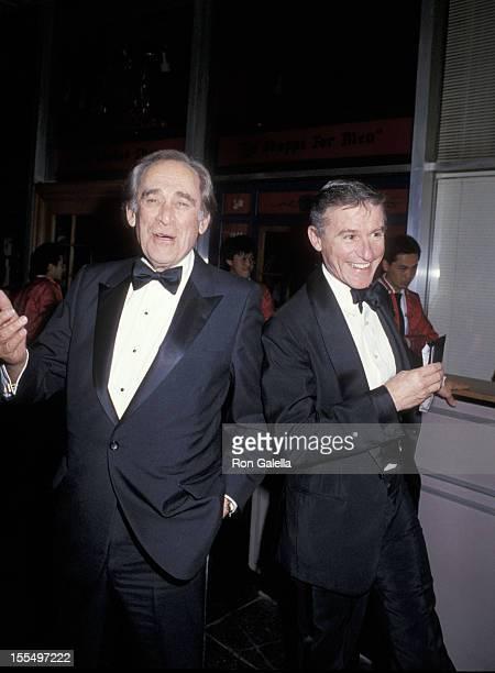 Louis Nye and Roddy McDowall during Louis Nye File Photos Circa 1985 United States