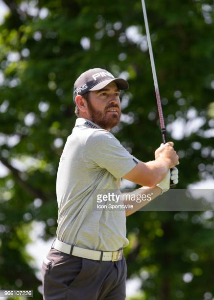 Louis Oosthuizen during the third round of the Memorial Tournament at Muirfield Village Golf Club in Dublin Ohio on June 02 2018