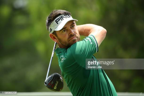 Louis Oosthuizen of South Africa plays his shot off the 4th tee during Day Four of the South African Open at Randpark Golf Club on January 12, 2020...