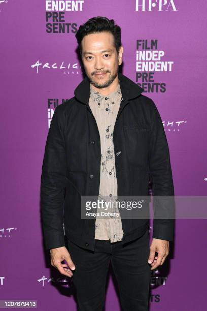 """Louis Ozawa Changchien at Film Independent Screening Series Presents """"Hunters"""" at ArcLight Culver City on February 20, 2020 in Culver City,..."""