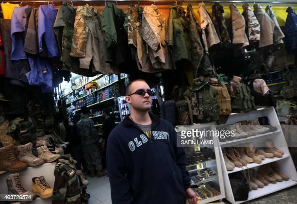 Louis Park a US national who fights jihadists of the Islamic State group alongside Dwekh Nawsha a Christian militia whose name is an Assyrianlanguage...