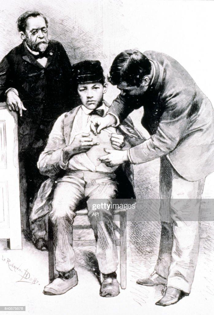 Connu Louis Pasteur inoculant un vaccin contre la rage Pictures | Getty  KU55