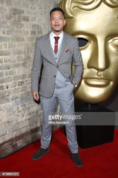 Louis Payne attends the BAFTA Children's awards at The Roundhouse on November 26 2017 in London England