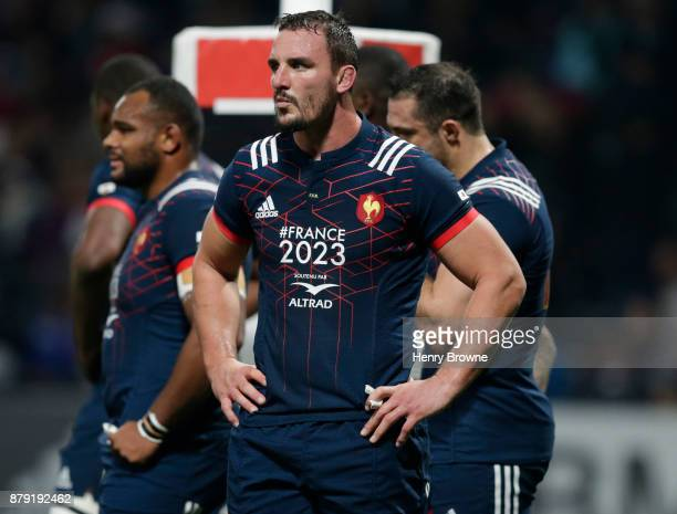 Louis Picamoles of France during the international rugby union match between France and Japan at U Arena on November 25, 2017 in Nanterre, France.