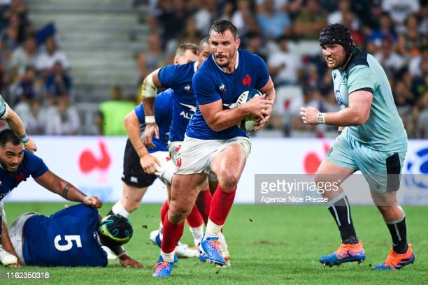Louis Picamoles of France during the test match between France and Scotland on August 17 2019 in Nice France