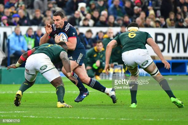 Louis Picamoles of France during the test match between France and South Africa at Stade de France on November 18 2017 in Paris France