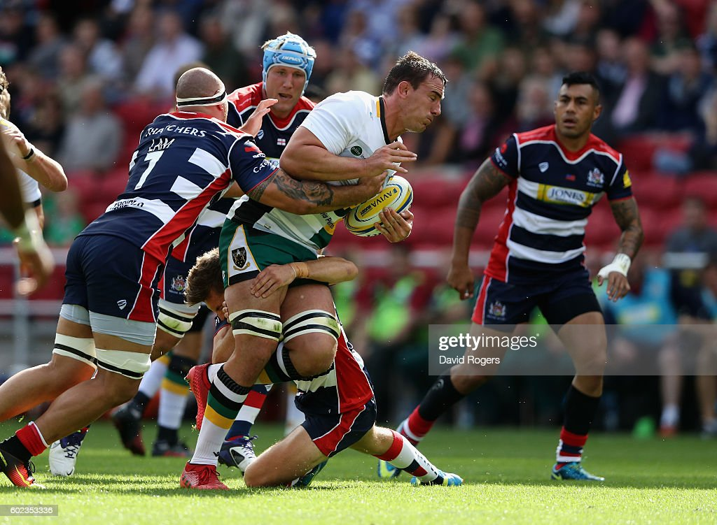 Bristol Rugby v Northampton Saints - Aviva Premiership : News Photo