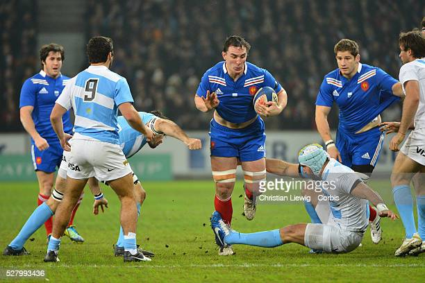 FRANCE Louis Picamoles Villeneuved'Ascq France's during the rugby union test match France vs Argentina at Lille Grand Stade on November 17 2012 in...