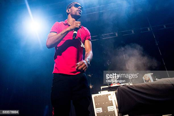 Louis Rei of WSTRN performs onstage at The Brighton Dome on Day 3 of The Great Escape 2016 on May 21 2016 in Brighton England