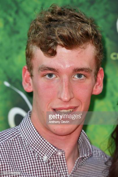 Louis Rolfe attends the Cirque Du Soleil's OVO Premiere at The Liverpool Echo Arena on August 16 2018 in Liverpool England