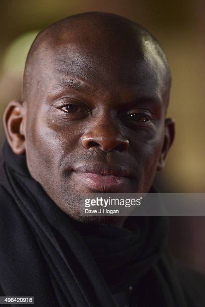 Louis Saha attends the World Premiere of 'Ronaldo' at Vue West End on November 9 2015 in London England