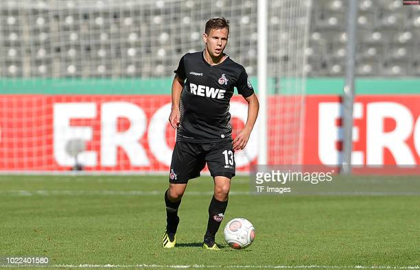Louis Schaub of FC Koeln controls the ball during the DFB Cup first round match between BFC Dynamo and 1 FC Koeln at Olympiastadion on August 19 2018...