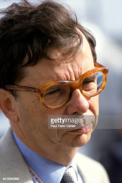 Louis Schweitzer Grand Prix of Europe Circuito de Jerez 26 October 1997 Renault CEO Louis Schweitzer