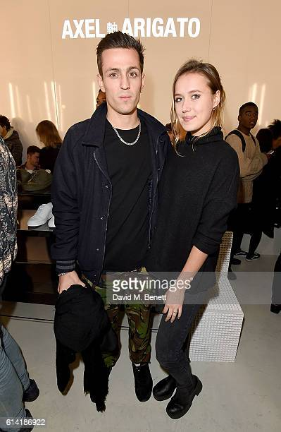 Louis Simonon attends the Axel Arigato London store launch on October 12 2016 in London England