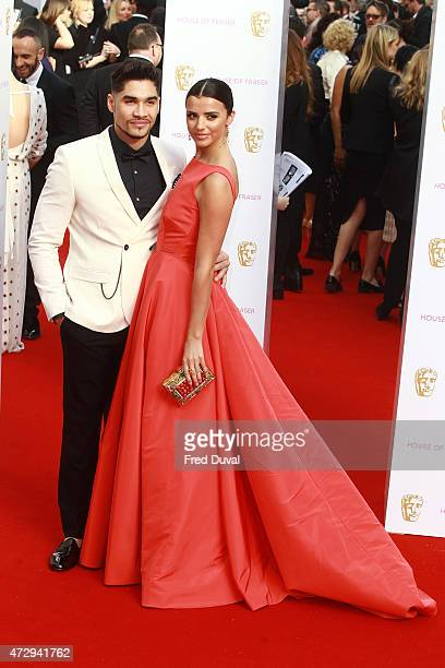 Louis Smith and Lucy Mecklenburgh at House of Fraser British Academy Television Awards 2015 Theatre Royal on May 10 2015 in London England