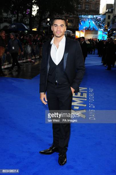 Louis Smith arriving at the X-Men Days of Future Past UK premieree, at The West End Odeon, Leicester Square, London.