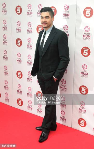 Louis Smith arriving for the Tesco Mum of the Year Awards at The Savoy hotel in central London