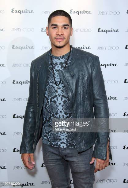 Louis Smith attends a party hosted by Jimmy Choo & Esquire during the London Collections SS14 on June 16, 2013 in London, England.
