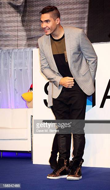 Louis Smith attends the Samsung Smart TV Angry Birds Party at Westfield Stratford City on December 13 2012 in London England