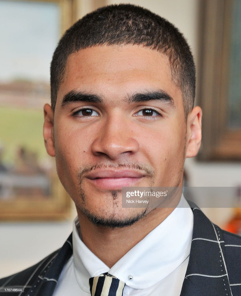 Louis Smith attends the Savile Row & St James's Presentation during the London Collections: MEN SS14 at Lord's Cricket Ground on June 17, 2013 in London, England.