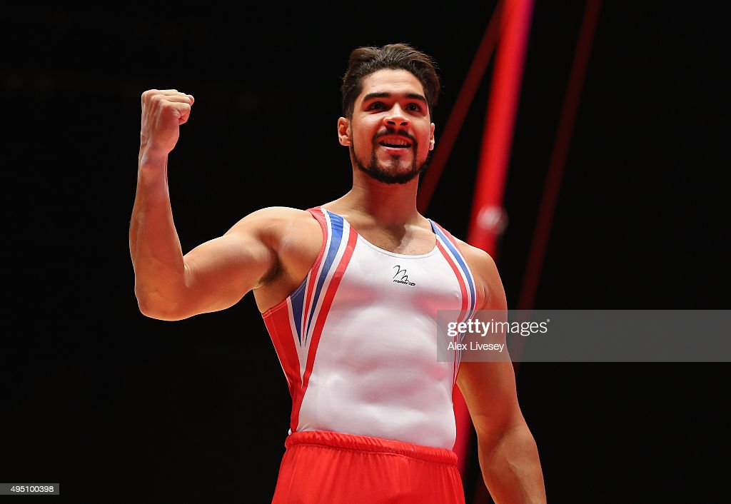 Louis Smith of Great Britain wins Silver in the Pommel Horse Final during dy nine of the 2015 World Artistic Gymnastics Championships at The SSE Hydro on October 31, 2015 in Glasgow, Scotland.