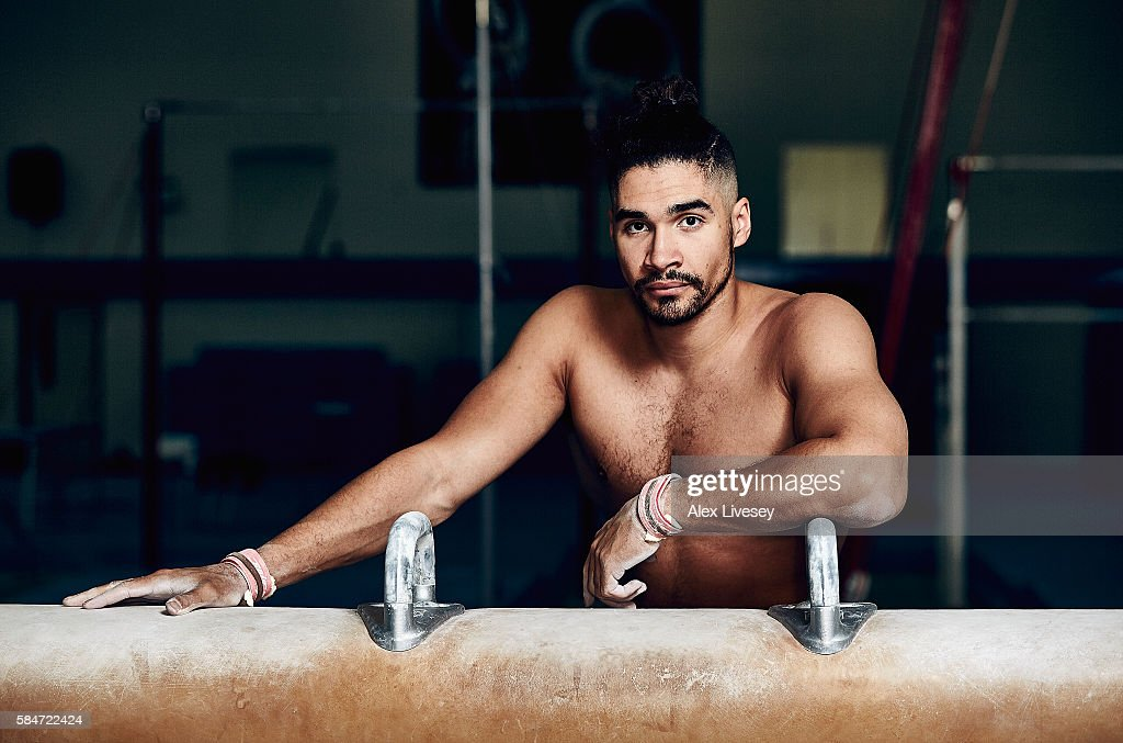 Louis Smith of the British Gymnastics Team poses for a portrait during a training session at Lilleshall National Sports Centre on July 12, 2016 in Shropshire, England.