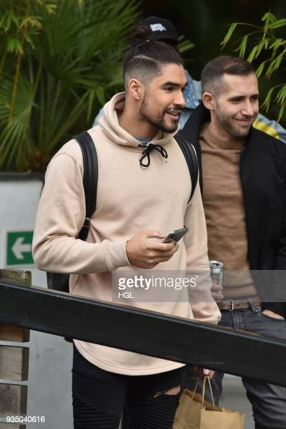 Louis Smith seen at the ITV Studios on March 20 2018 in London England
