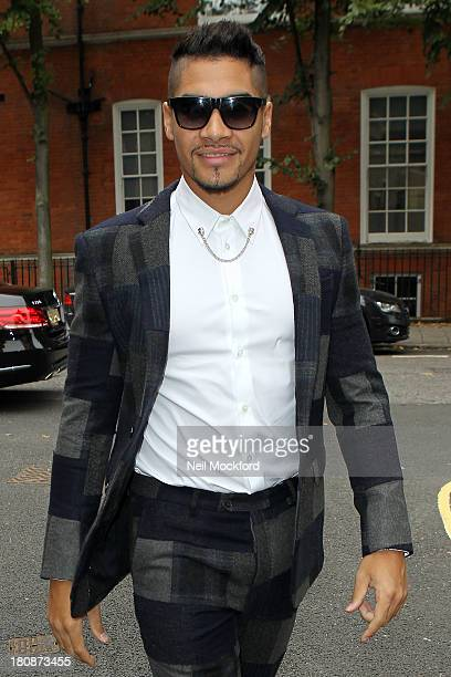 Louis Smith seen at the Stella McCartney Collection on September 17 2013 in London England