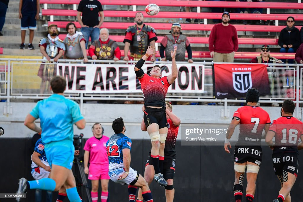 Major League Rugby Vegas Weekend : News Photo