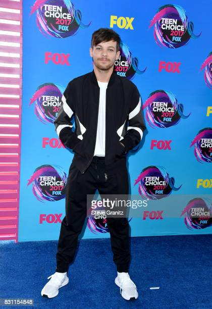 Louis Tomlinson attends the Teen Choice Awards 2017 at Galen Center on August 13 2017 in Los Angeles California