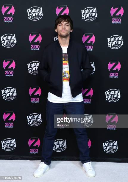 Louis Tomlinson attends the z100 All Access Lounge presented by Poland Spring PreShow at Pier 36 on December 13 2019 in New York City