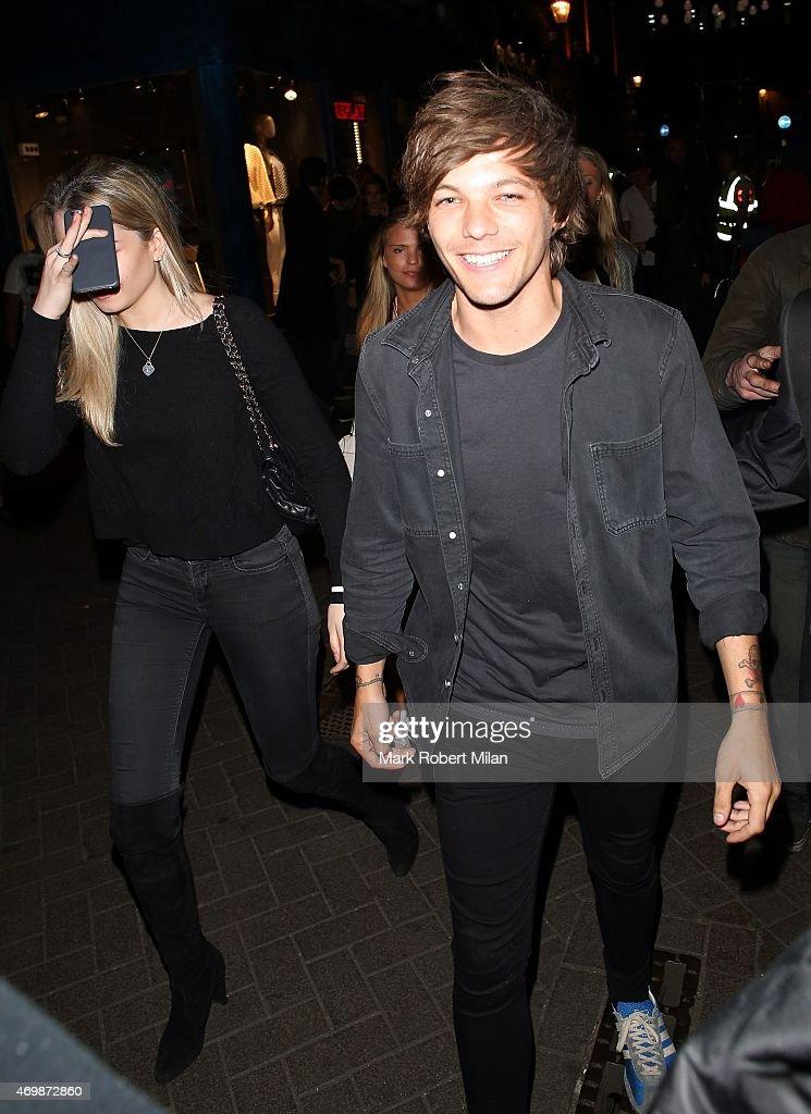 London Celebrity Sightings -  April 15, 2015 : News Photo