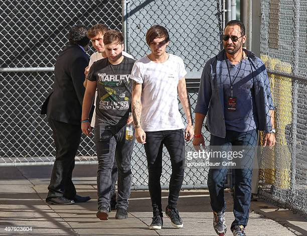 Louis Tomlinson of One Direction is seen on November 19 2015 in Los Angeles California