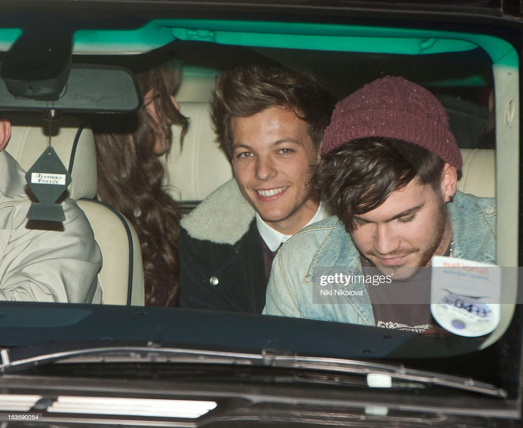 Louis Tomlinson sighting on October 6, 2012 in London, England.