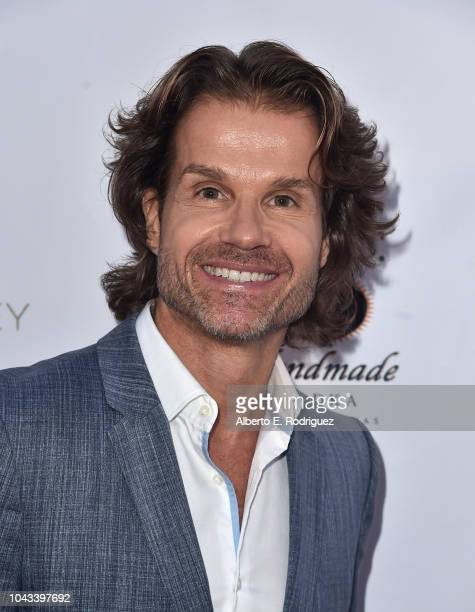 Louis Van Amstel attends the RIDE Foundation's 2nd Annual Dance For Freedon at gala The Broad Stage on September 29 2018 in Santa Monica California
