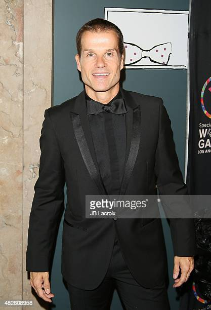 Louis Van Amstel attends the Special Olympics Celebrity Dance Challenge at Wallis Annenberg Center for the Performing Arts on July 31 2015 in Beverly...