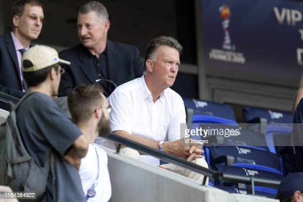Louis van Gaal during the FIFA Women's World Cup France 2019 final match between United States of America and The Netherlands at Stade de Lyon on...