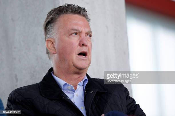 Louis van Gaal during the match between Bayern Munchen U19 v Ajax U19 at the FC Bayern Campus on October 2, 2018 in Munchen Germany