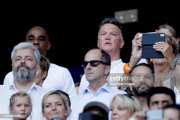 Louis van Gaal during the World Cup Women match between USA v Holland at the Stade de Lyon on July 7, 2019 in Lyon France