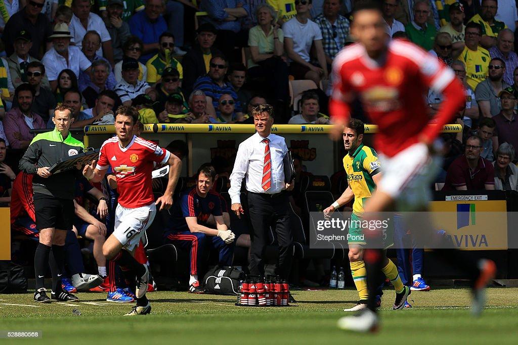 Norwich City v Manchester United - Premier League : News Photo