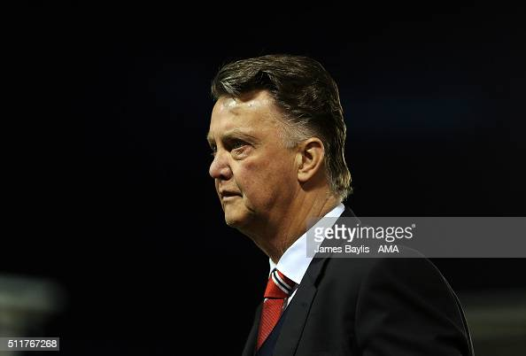 Louis Van Gaal The Head Coach / Manager Of Manchester
