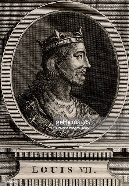 Louis VII king of France from 1137 member of the Capetian dynasty and first husband of Eleanor of Aquitaine The marriage was annulled and Eleanor...