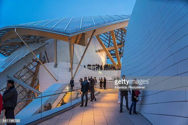 Louis Vuitton Foundation at Bois de Boulogne