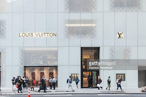 Louis Vuitton shop along 5th Avenue