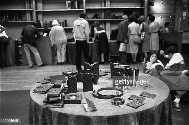 Louis Vuitton store in Paris France on August 09 1977 Avenue Marceau