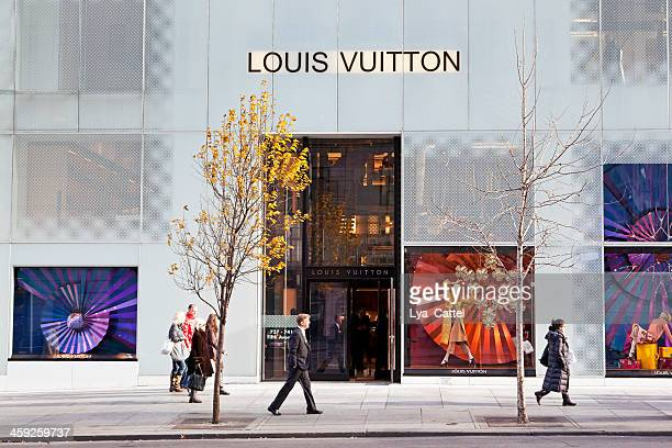 louis vuitton store nyc # 1 xxl - louis vuitton designer label stock photos and pictures