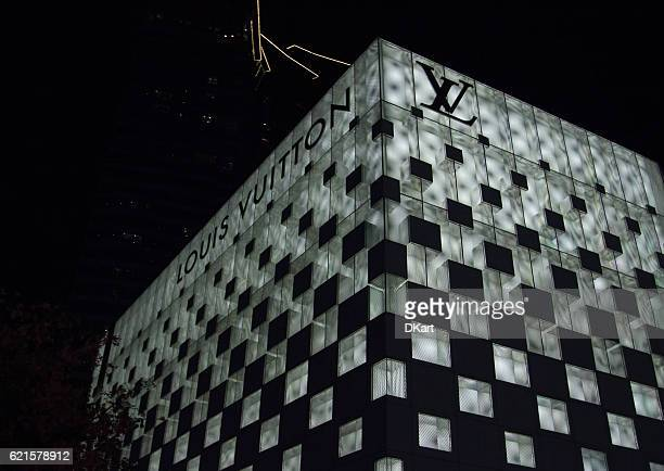 louis vuitton store - louis vuitton designer label stock pictures, royalty-free photos & images