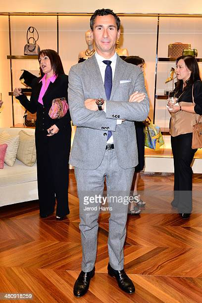 Louis Vuitton SVP of Western Region Tomasso De Vecchi attends Louis Vuitton with Vogue and Michelle Janavs discover the Women's ReadyToWear...