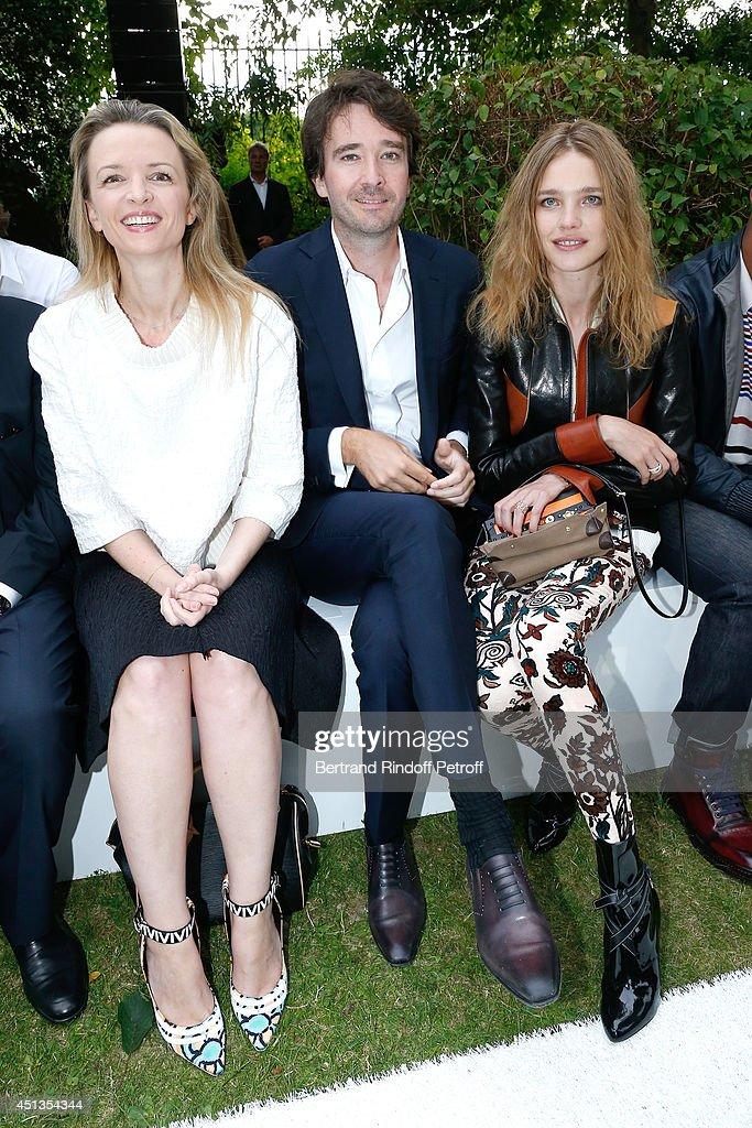 Berluti : Front Row - Paris Fashion Week - Menswear S/S 2015