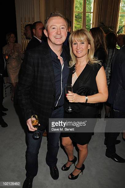 Louis Walsh and Caroline Grainge attend the Lucian Grainge VIP Party on June 15 2010 in London England